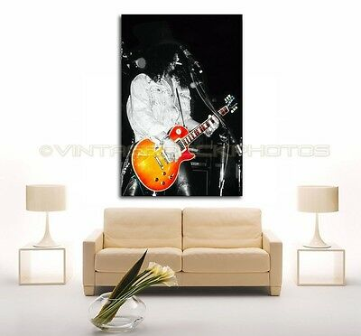 Slash GUNS N ROSES 24x36 inch Poster Size Photo Ltd Edition Custom Art Design 32