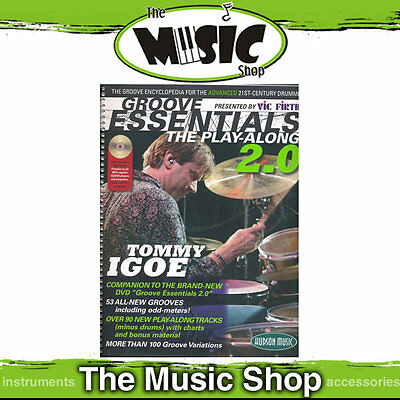 New Tommy Igoe's Groove Essentials 2.0 Book & CD Pack for Drums