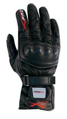 Protective Touring Racing Leather Motorcycle Apparel Professional Gloves Black