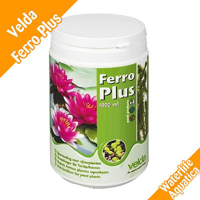Velda - Ferro Plus Pond Plant - Growth Minerals - 1000ml - FREE Delivery