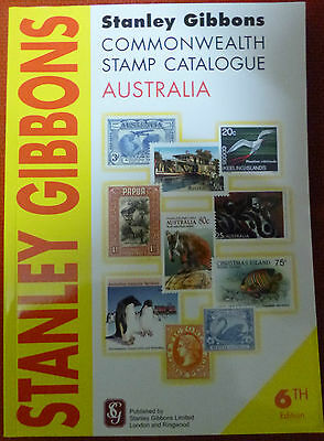 STANLEY GIBBONS 2010 AUSTRALIA & COLONIES STAMP CATALOGUE 6th Edition in COLOUR