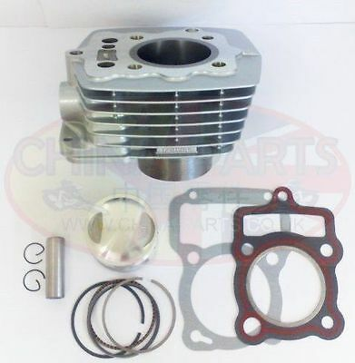 200cc Cylinder Bore Set for Bashan BS200S-3 Air Cooled 163FML