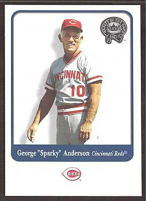 2001 (BB) Greats of the Game #2 George Anderson - NM-MT