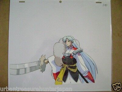 Inuyasha Sesshoumaru Rumiko Takahashi Anime Production Cel