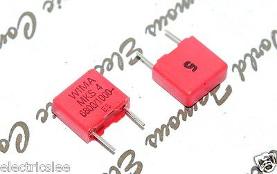 FKP2//330PF//100V //2.5/%       Wima Poly Prop Capacitor   Bags of  x25