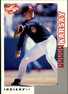 1998 Score Rookie Traded #55 Steve Karsay