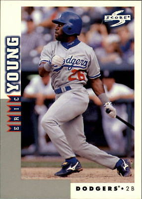 1998 Score Rookie Traded #120 Eric Young