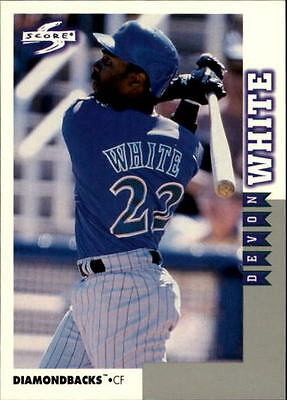 1998 Score Rookie Traded #181 Devon White