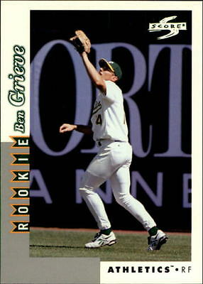 1998 Score Rookie Traded #242 Ben Grieve