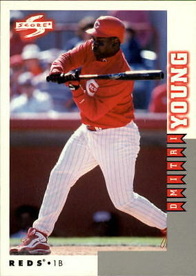 1998 Score Rookie Traded #182 Dmitri Young