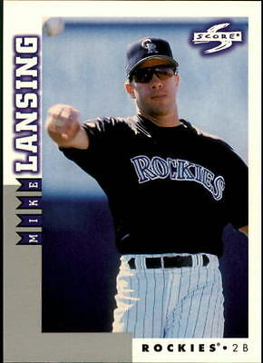 1998 Score Rookie Traded #187 Mike Lansing