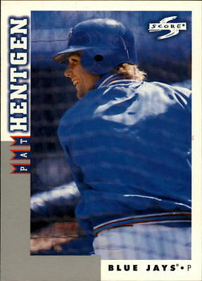1998 Score Rookie Traded #87 Pat Hentgen