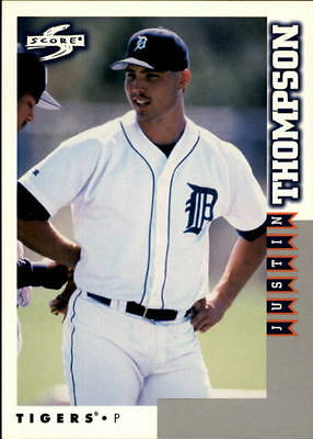 1998 Score Rookie Traded #206 Justin Thompson