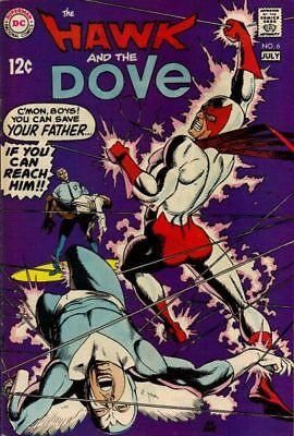 HAWK AND THE DOVE #6 Very Good, Gil Kane art, DC Comics 1969