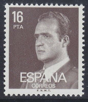 Spain 1982 - Re Juan Carlos I - Fluorescente - P. 16 - Mnh