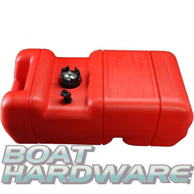 Boat Petrol Fuel TANK + Gauge Plastic Portable 22.7 Litre Suits Outboard Engines