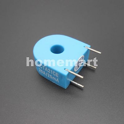 1pcs 21c Micro current transformer 20A/20mA special measuring 0.1 high quality !