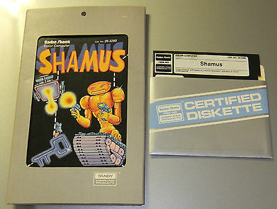 Shamus for Tandy TRS-80 Colour Computer 1 2 Coco Color Computer