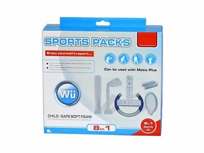 8 in 1 Sports Pack for Nintendo Wii