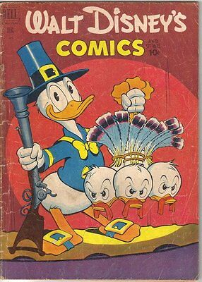 Walt Disney's Comics and Stories Comic Book #135, Dell Comics 1951 VERY GOOD-