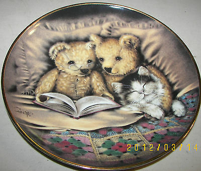 Franklin Mint Heirloom - Bedtime Story Limited Edition Collector Plate 8""