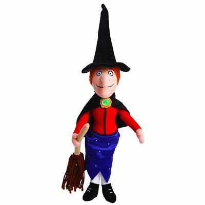 Room on the Broom Witch Hexe 38cm Stoffpuppe Hexenpuppe Halloween Stoff Puppe