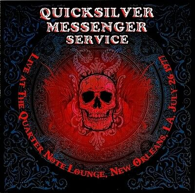 QUICKSILVER MESSENGER SERVICE: Reunion (2006); BEARVP111CD; David Freiberg 2CD