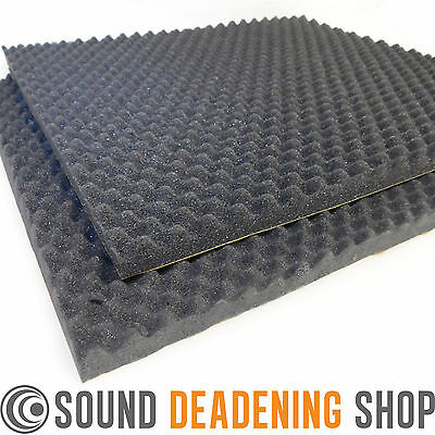Silent Coat Sound Absorber 35mm 2 Sheets Acoustic Foam Car Deadening Proofing