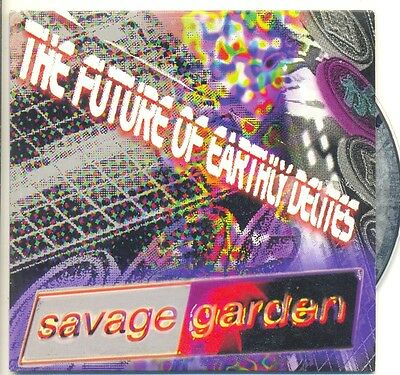 SAVAGE GARDEN VERY RARE PROMO The Future of Earthly Delites AUS Only CD