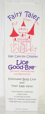 Fairy Tales Lice Good-Bye Non Toxic Lice Removal Kit