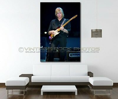 Justin Hayward Moody Blues inch 20x30  Poster Size Photo Live 80's Concert 25
