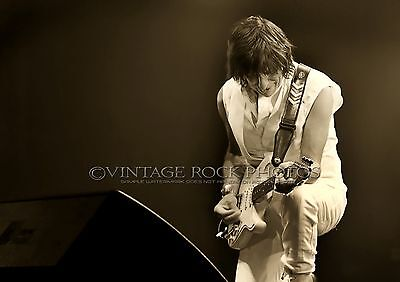 Jeff Beck 12X18 inch Poster Size Photo Live Concert Pro Print / '09 UK Tour  s26