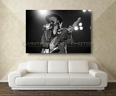 Stevie Ray Vaughan 20x30 inch Poster Size Photo Live '80s Concert Pro Print  L26