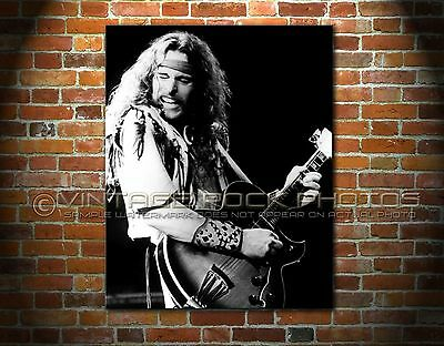 Ted Nugent 11x14 inch Poster Size Photo 70s Concert Print from 35 mm Negative 80