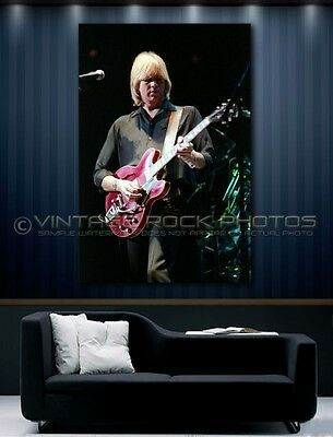 Justin Hayward Moody Blues inch 20x30  Poster Size Photo Live 80's Concert 61