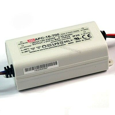 Mean Well LED Driver power supply Constant Current 9V/12V/24V/48V CE UL Approved