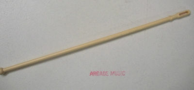 Flute/Recorder cleaning rod white plastic made by Aulos