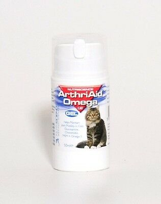 Arthri Aid Omega Cat Gel 50ml. Premium Service. Fast Dispatch.