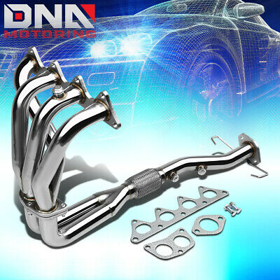 STAINLESS STEEL 4-2-1 HEADER FOR 02-07 MIT LANCER 2.0 l4 4CYL EXHAUST/MANIFOLD
