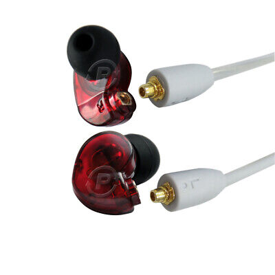In-Ear Noise Isolating Headphones Replacement For Shure SE215 SE315 SE425 SE535