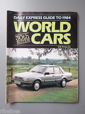 R&L Daily Express Guide to World Cars 1984 Datsun/Citroen/Mazda/Vauxhall/Austin