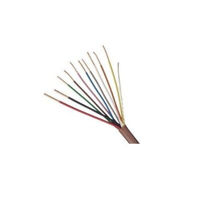 250' 18-10 PVC Thermostat Cable Outer Jacket Heat Resistant USA Wire
