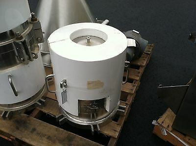 Jacketed Stainless Fluid Pdts Cartridge Filter Housing 3.25 Cf Bioreactor $299