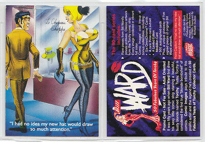 PROMO CARD: BILL WARD, 50 FABULOUS YEARS OF TORCHY, Comic Images, 1994  NO#.
