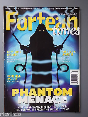 R&L Mag: Fortean Times February 2000, Ghost Photography/Turin Shroud/Qumran