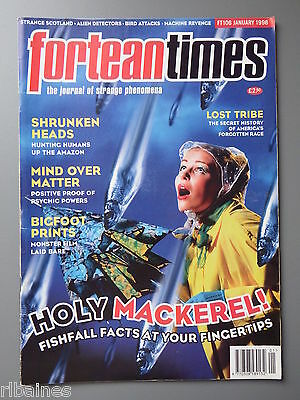 R&L Mag: Fortean Times January 1998, Melungeons Tribe/Fish Rain/Head Shrinking