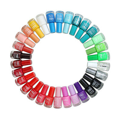 30 x Nail Varnish Polish Set 22+ Different Bright Vivid Colours Artificial Nails