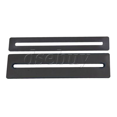 2PCS Stainless Steel Fretboard Protector Fingerboard Guards For Bass and Guitar