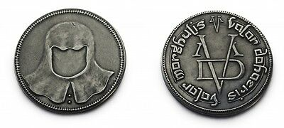 A Song of Ice and Fire Game of Thrones Faceless Man Iron Coin Valar Morghulis