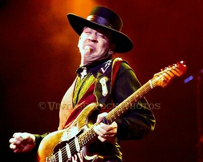 Stevie Ray Vaughan Photo 8x10 in '80s Live Concert Exclusive Fuji Pro Print 3